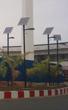 Installation lampadaires solaires Congo Pointe Noire